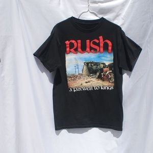 Other - Rush | Black Graphic Band Tee - M (no tag)
